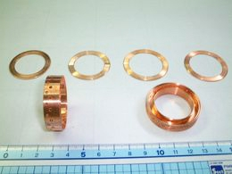 銅棒切削加工品(電気部品)2-1