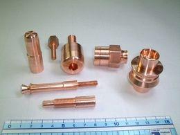 銅棒切削加工品 電気部品